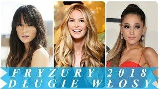 Fryzury Damskie Długie Włosy 2018