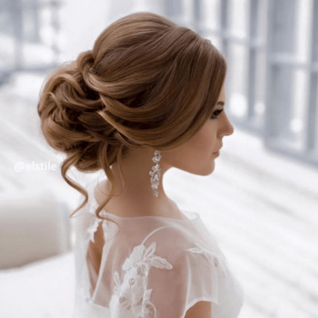 Fryzury ślubne 2018 Długie Włosy