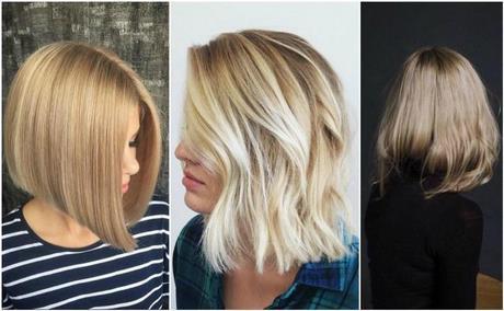 Blond Fryzury 2019