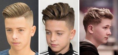 Fryzury Dla Nastolatków Chłopców 2019