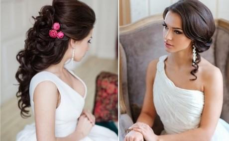 Fryzury ślubne 2019 Z Grzywką