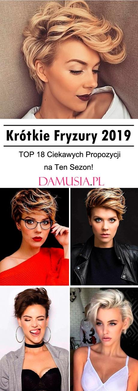 Galeria Krótkich Fryzur 2019