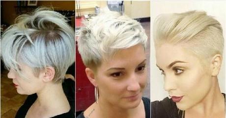 Krótkie Fryzury 2019 Blond