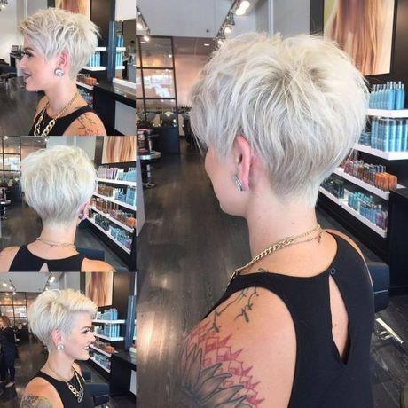 Krótkie Fryzury Damskie Blond 2019