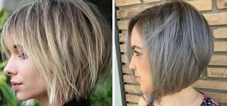 Krótkie Fryzury Dla Cienkich Włosów 2019