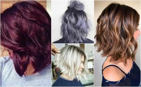 Modne Kolory Krótkich Włosów 2019