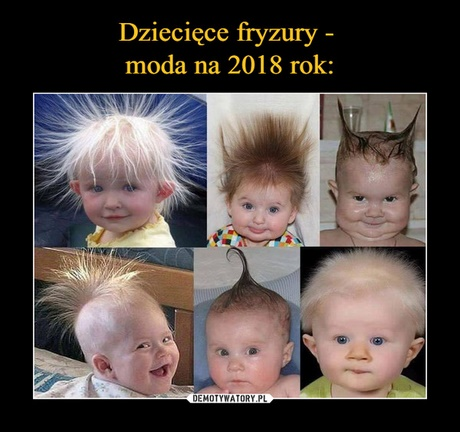 Fryzury 2018 Dzieciece