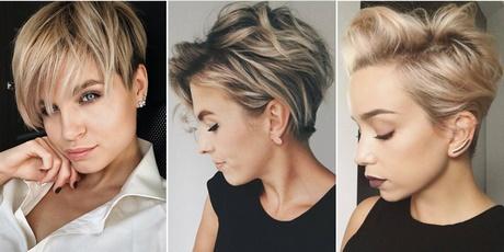 Włosy średnie Fryzury 2018