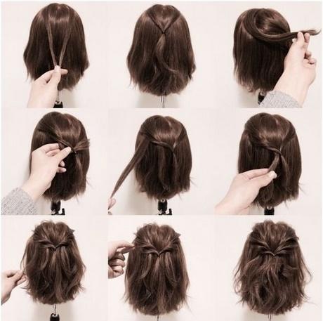Fryzury Krótkie Włosy Krok Po Kroku