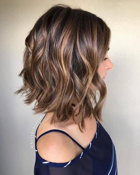 Fryzury Z Falowanych Włosów