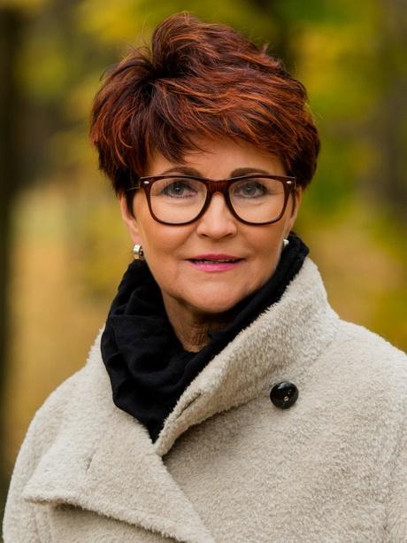 Jolanta Kwaśniewska Fryzury