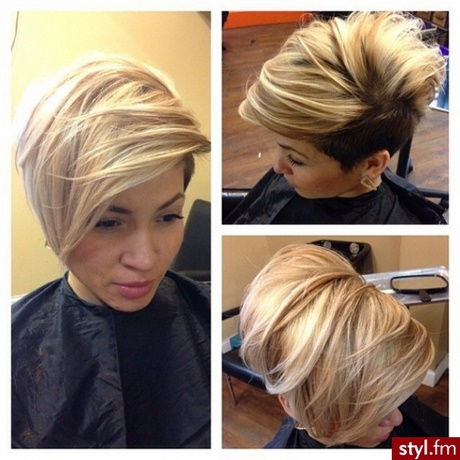 Krótkie Wlosy Blond