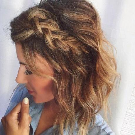 Modne Uczesania Włosów średnich