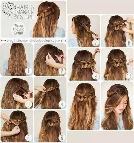ładne Fryzury Długie Włosy