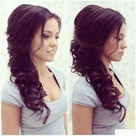 Fryzura Na ślub Długie Włosy