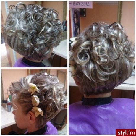 Fryzura Wieczorowa Krótkie Włosy