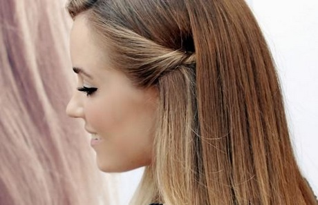 Fryzura Z Prostych Włosów