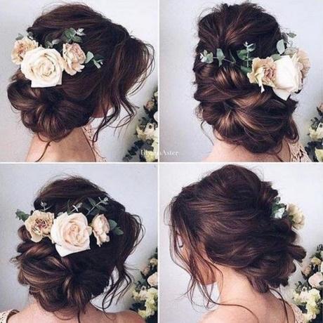 Fryzury ślubne Z Kwiatami