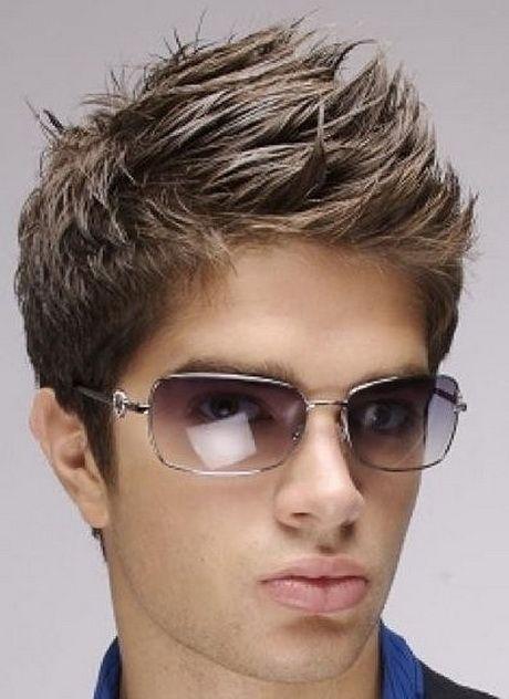 Fryzury Młodzieżowe Męskie Krótkie