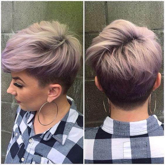 Fryzury Na Krótkich Włosach 2017