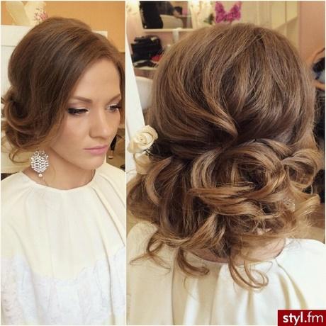 Fryzury Wieczorowe Włosy Długie