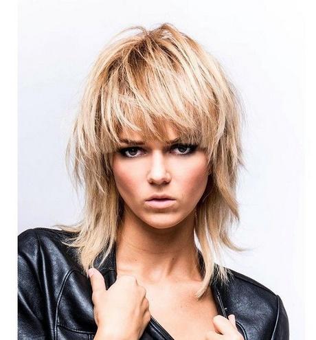 Fryzury Włosy średnie Cieniowane