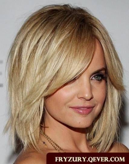 Fryzury Włosy średnie Cienkie