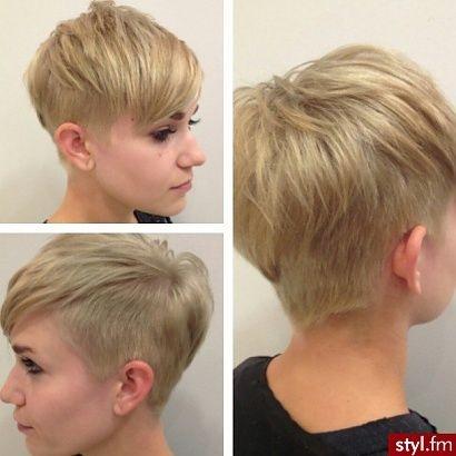 Krótkie Cienkie Włosy