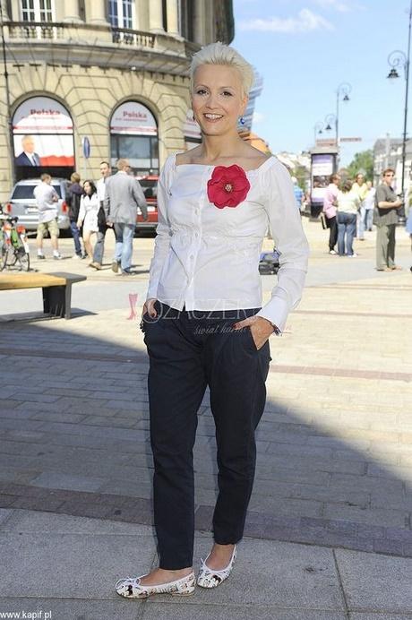 Marta Kuligowska Fryzura