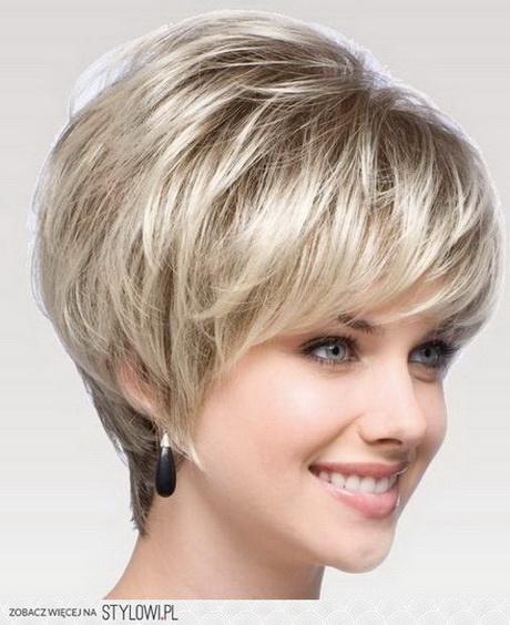 Modne Fryzury Krótkie Włosy Uczesania
