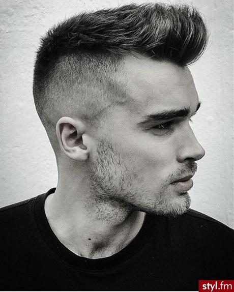 Męskie Fryzury Krótkie Włosy