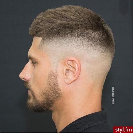 Męskie Fryzury Z Krótkich Włosów