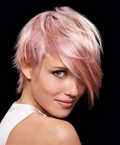 Pink Fryzura