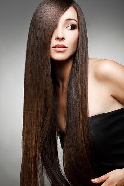 Proste Długie Włosy Fryzury