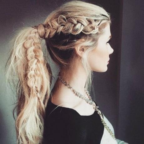 ładne Fryzury Z Długich Włosów