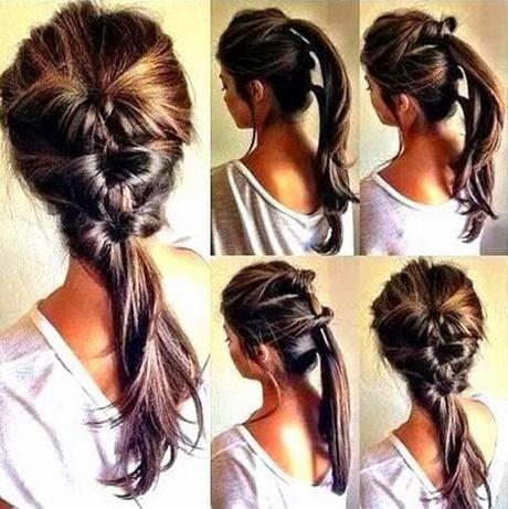 łatwe Fryzury Do Zrobienia Samemu Z Długich Włosów