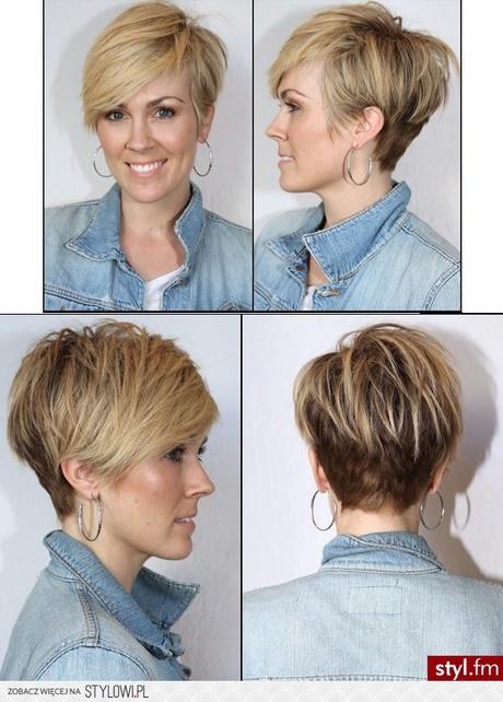łatwe Fryzury Z Krótkich Włosów