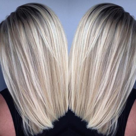 Blond Pasemka Na Blond Włosach
