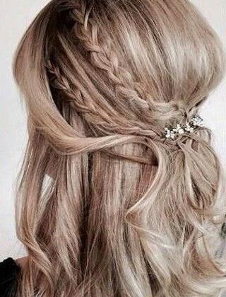 Fryzura Z Długich Włosów Na Wesele