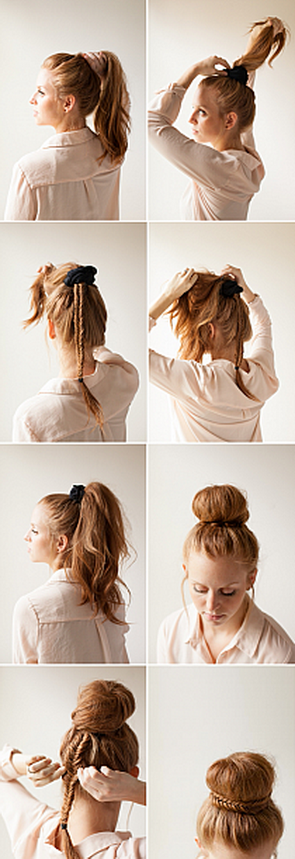 Fryzury łatwe Do Zrobienia Samemu średnie Włosy