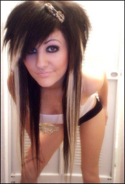 Fryzury Emo Długie Włosy