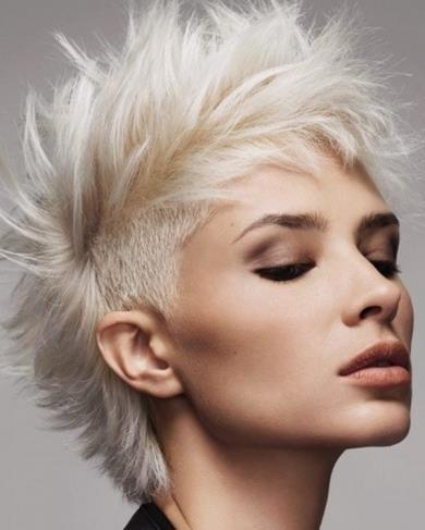 Fryzury Jasny Blond