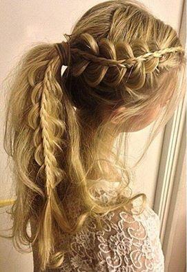 Fryzury Komunijne Na Długie Włosy