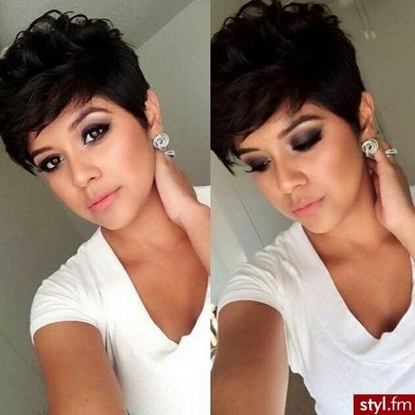 Fryzury Krótkie Czarne Włosy