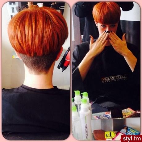 Fryzury Krótkie Rude Włosy