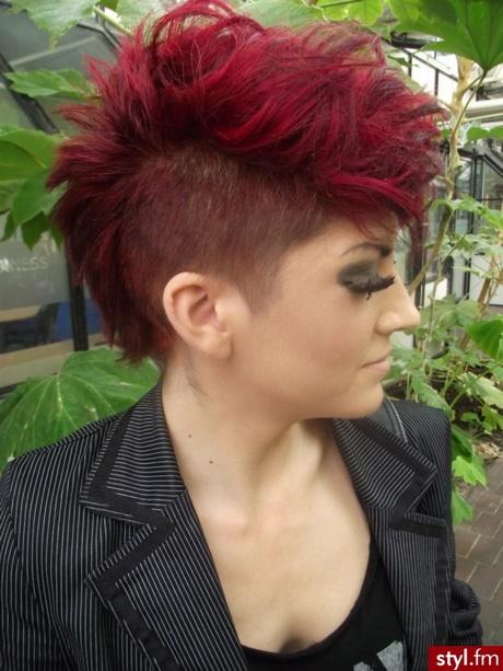 Fryzury Krótkie Włosy Rude