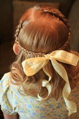 Fryzury ślubne Dla Dziewczynek