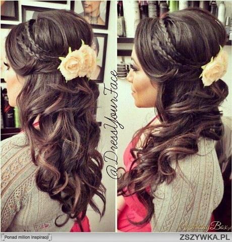 Fryzury ślubne Z Doczepianych Włosów