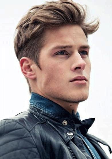 Fryzury Męskie Proste Włosy