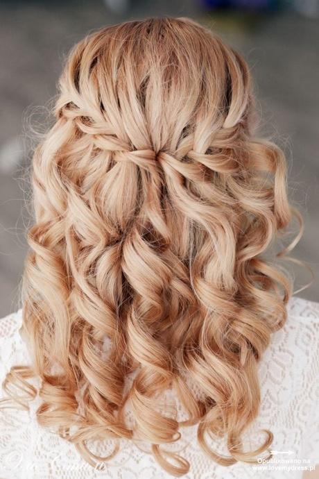 Fryzury Rozpuszczone Włosy Na Wesele